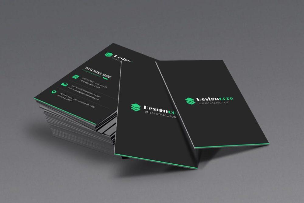 Triplex Business Cards   Printing Brooklyn