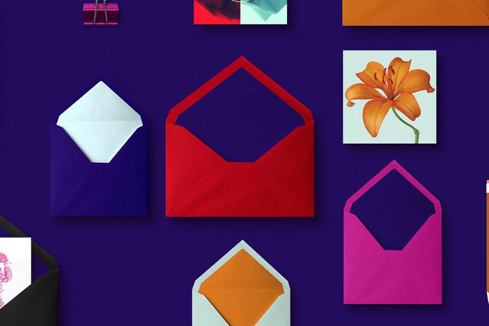 Envelopes   Blue